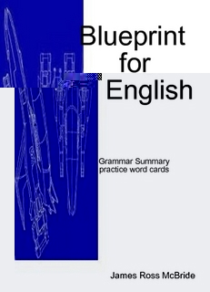 Blueprint for English grammar summary ebook includes Sentence Master Practice Word Cards